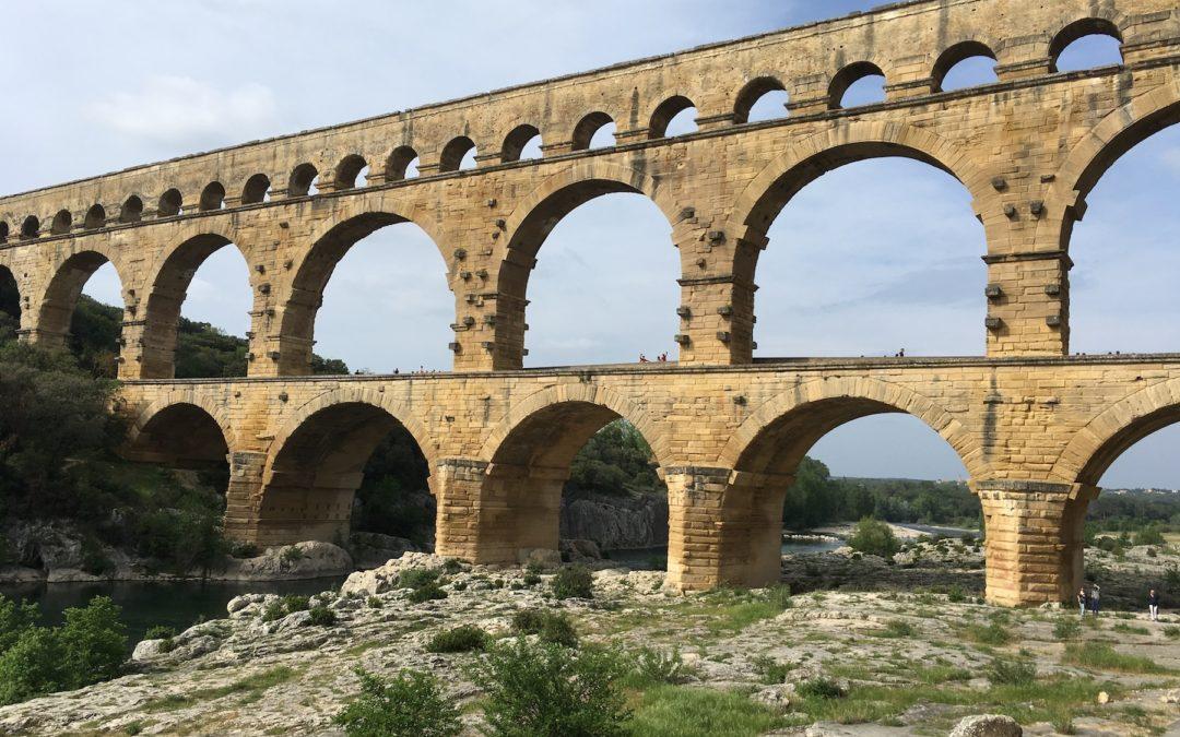 Entrainement Cevennes autour d'Argilliers – Pont du Gard